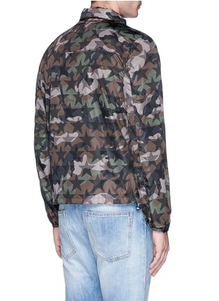 Back View - Click To Enlarge - Valentino - 'Camustars' print windbreaker jacket