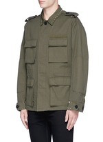 'Rockstud Untitled' field jacket