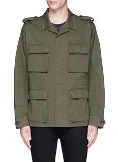 Valentino'Rockstud Untitled 03' field jacket