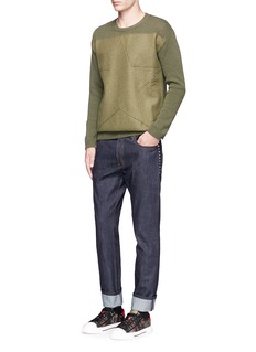 Valentino 'Rockstud Untitled 06' regular fit jeans