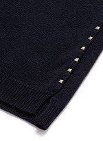 'Rockstud Untitled 07' cashmere sweater