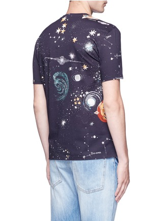 Back View - Click To Enlarge - Valentino - 'Cosmo' print T-shirt