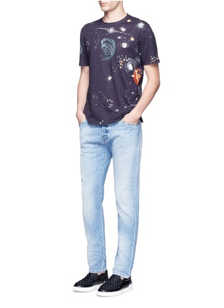 Figure View - Click To Enlarge - Valentino - 'Cosmo' print T-shirt