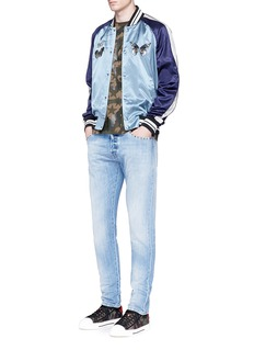 Valentino 'Rockstud Untitled 06' denim chinos