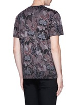 'Camubutterfly' print T-shirt