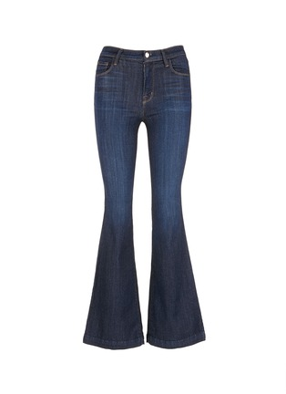 Main View - Click To Enlarge - J Brand - 'Maria Flare' high waist jeans