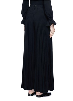 Back View - Click To Enlarge - Co - Plissé pleat crepe pants