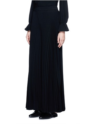 Front View - Click To Enlarge - Co - Plissé pleat crepe pants