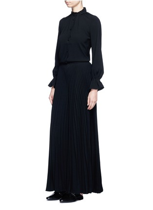 Figure View - Click To Enlarge - Co - Plissé pleat crepe pants