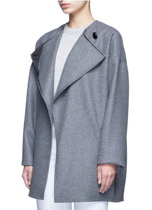 Detail View - Click To Enlarge - Isabel Marant - 'Feodor' wool-cashmere drape coat