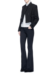 Proenza Schouler Ring flap pocket wool jacket