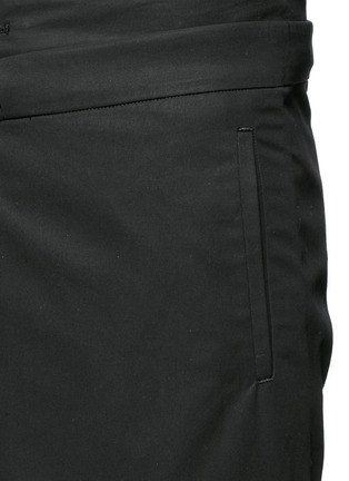 FFIXXED STUDIOS-Skirt overlay gabardine pants