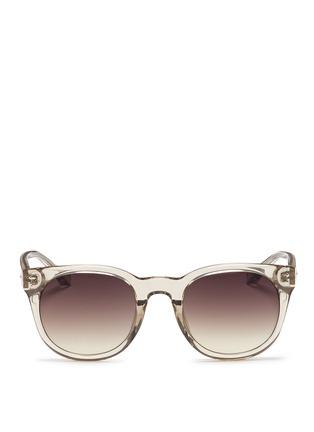 Main View - Click To Enlarge - Linda Farrow - Acetate D-frame sunglasses