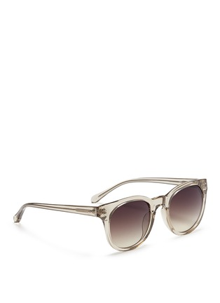 Figure View - Click To Enlarge - Linda Farrow - Acetate D-frame sunglasses