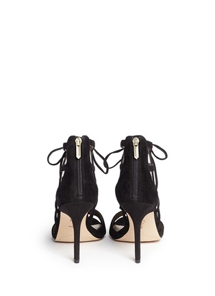 Back View - Click To Enlarge - Sam Edelman - 'Azela' tassel suede sandals