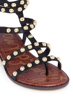 'Eavan' stud leather gladiator sandals