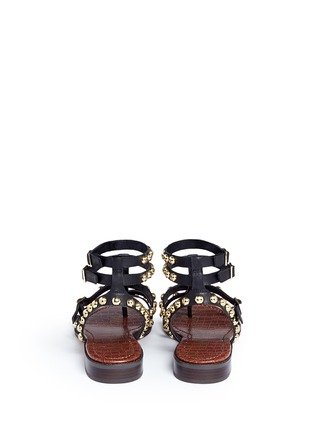 Back View - Click To Enlarge - Sam Edelman - 'Eavan' stud leather gladiator sandals