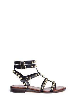 Main View - Click To Enlarge - Sam Edelman - 'Eavan' stud leather gladiator sandals