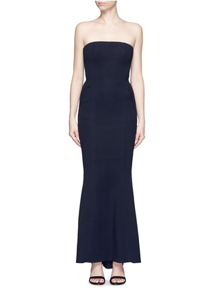 Main View - Click To Enlarge - Comme Moi - Strapless mermaid gown