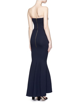 Figure View - Click To Enlarge - Comme Moi - Strapless mermaid gown