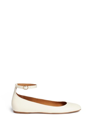 Main View - Click To Enlarge - Isabel Marant Étoile - 'Lili' ankle strap leather flats