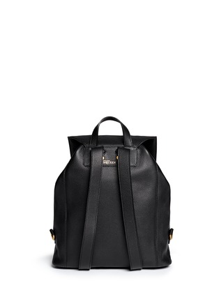Back View - Click To Enlarge - Alexander McQueen - 'Padlock' skull leather backpack