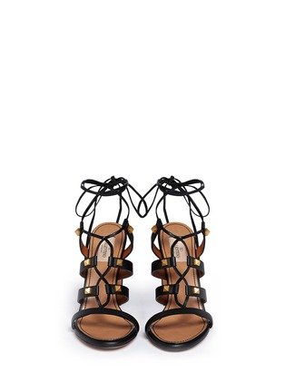 Figure View - Click To Enlarge - Valentino - 'Rockstud' leather strappy sandals