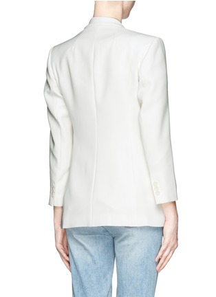 Back View - Click To Enlarge - Theory - 'Lousine' Kuril Single-button Blazer