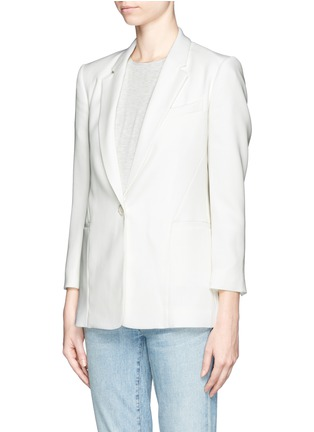 Front View - Click To Enlarge - Theory - 'Lousine' Kuril Single-button Blazer