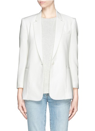 Main View - Click To Enlarge - Theory - 'Lousine' Kuril Single-button Blazer