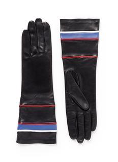 GIVENCHYNautical lamb leather gloves