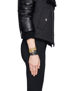GIVENCHY'Obsedia' triple wrap stingray leather bracelet