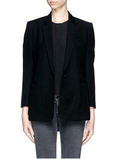 THEORY 'Lousine' Kuril Single-button Blazer