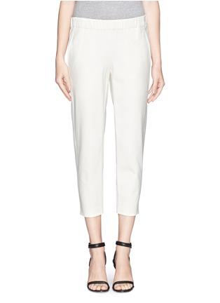 Main View - Click To Enlarge - Theory - 'Kleon B' elasticated tuxedo pants