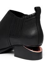 'Kori' cutout heel leather Chelsea boots