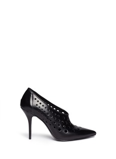 ALEXANDER WANG  'Magdalena' perforated leather pumps