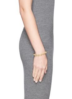 EDDIE BORGOCrystal pavé cylindrical cone tennis bracelet