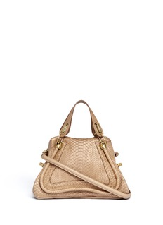 CHLOÉ 'Paraty' medium python leather bag