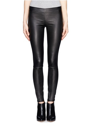 Main View - Click To Enlarge - The Row - 'Moto' stretch leather leggings
