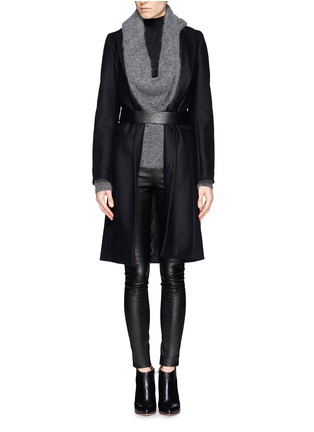 Figure View - Click To Enlarge - The Row - 'Moto' stretch leather leggings