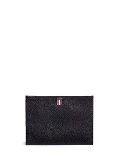 Thom Browne Medium pebble grain document holder