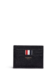 Thom BrownePebble grain leather card holder