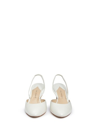 Front View - Click To Enlarge - Paul Andrew - 'Celestine' leather slingback pumps
