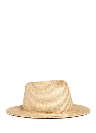 Main View - Click To Enlarge - YUNOTME BY GLORIA YU - 'Micha' floral lace panama straw hat