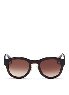 Alexander McQueenOversized tortoiseshell acetate sunglasses