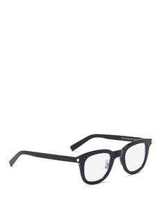 Saint Laurent 'SL 141 Slim' acetate square optical glasses