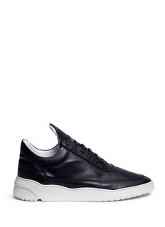 Filling Pieces 'Low Top' leather sneakers