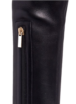 Detail View - Click To Enlarge - Jimmy Choo - 'Mason' stretch nappa leather platform boots