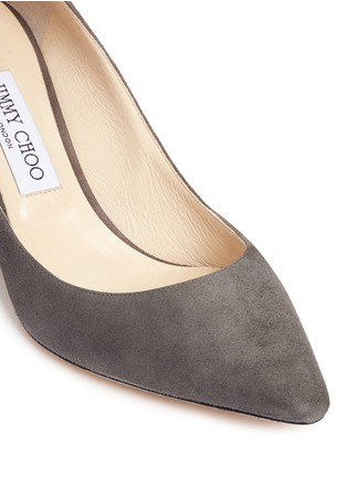 Detail View - Click To Enlarge - Jimmy Choo - 'Romy' suede pumps