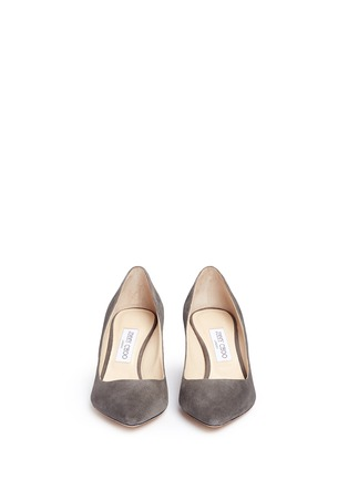 Front View - Click To Enlarge - Jimmy Choo - 'Romy' suede pumps